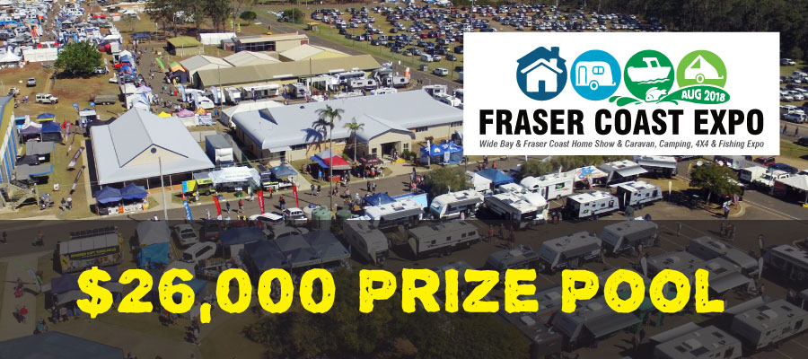 26 000 prize pool at the fraser coast expo fraser for Pool expo show