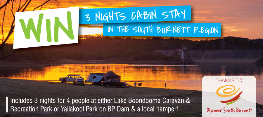 WIN 3 night's cabin stay for 4 people