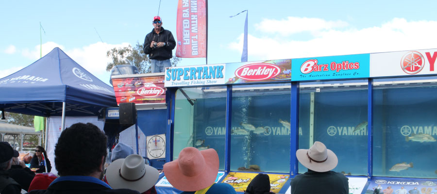 The Berkley Supertank Fishing Show