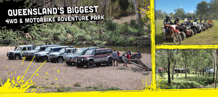 Queensland's biggest and best 4WD & Motorbike Adventure Park