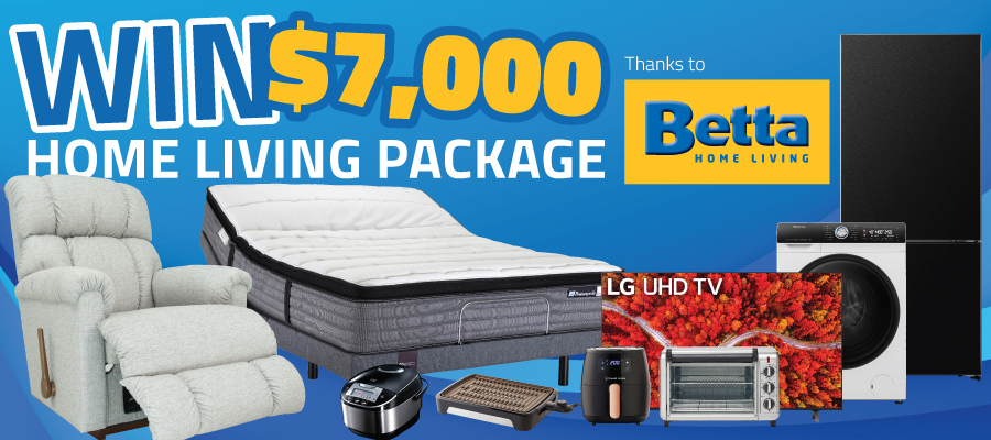 WIN A $7,000 Home Living Package!